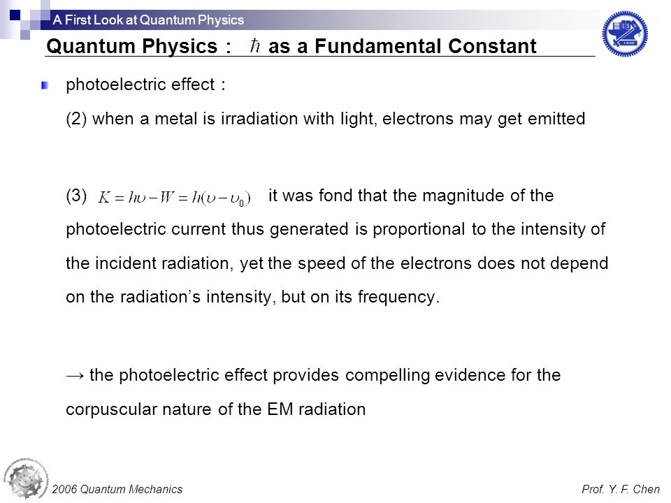 photoelectric effect (2) when a metal is irradiation with light, electrons may get emitted (3) it was fond that the magnitude of the photoelectric cur