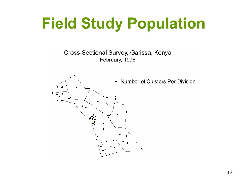 42 Field Study Population
