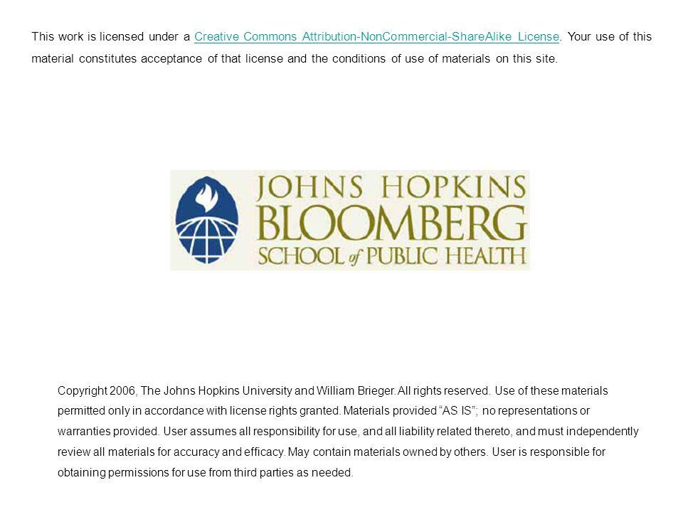The Political Economy Framework William R. Brieger, MPH, CHES, DrPh Johns Hopkins University 1