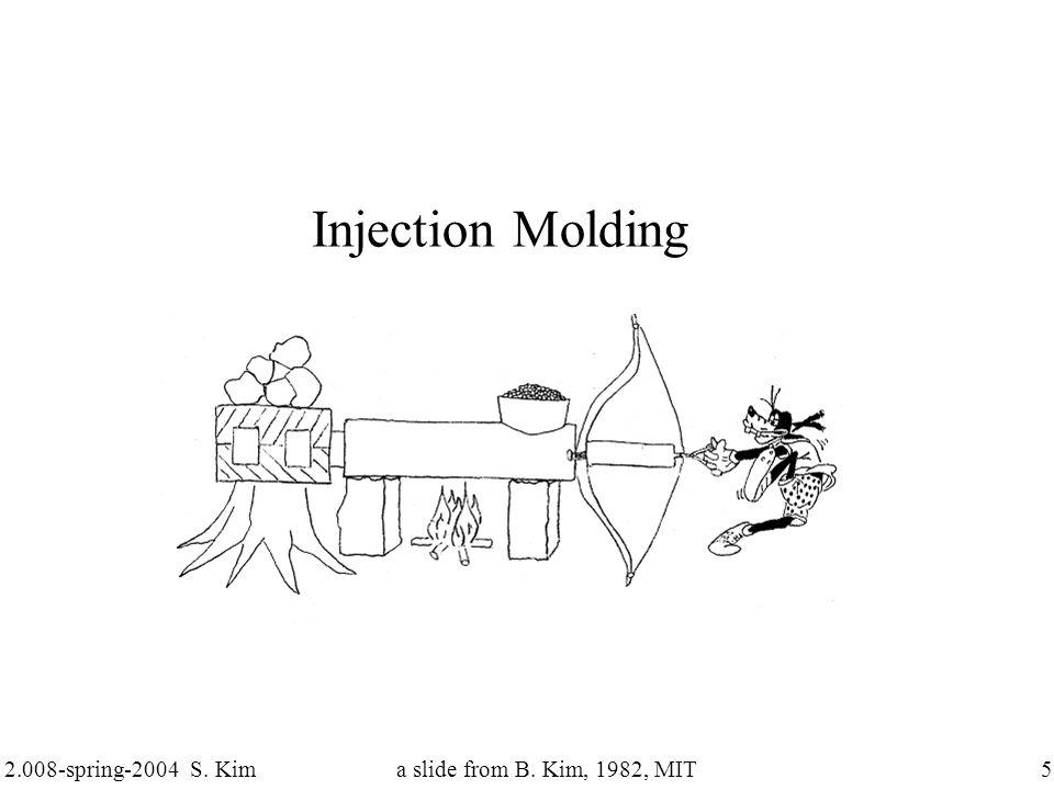 2.008-spring-2004 S. Kim 6 Injection Molding Machine