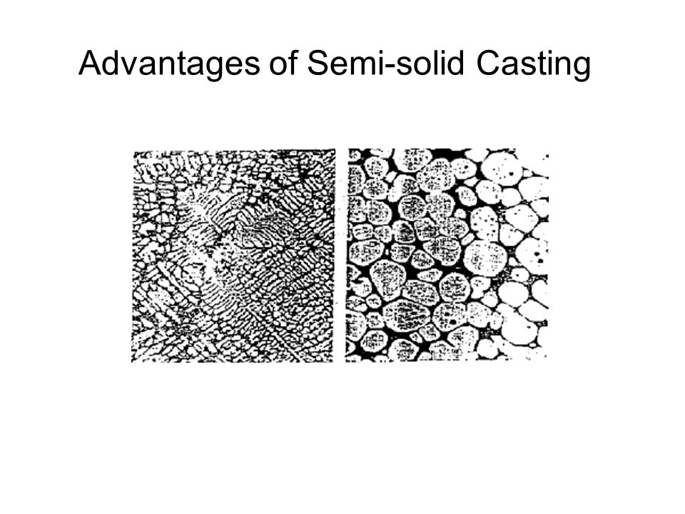 Advantages of Semi-solid Casting