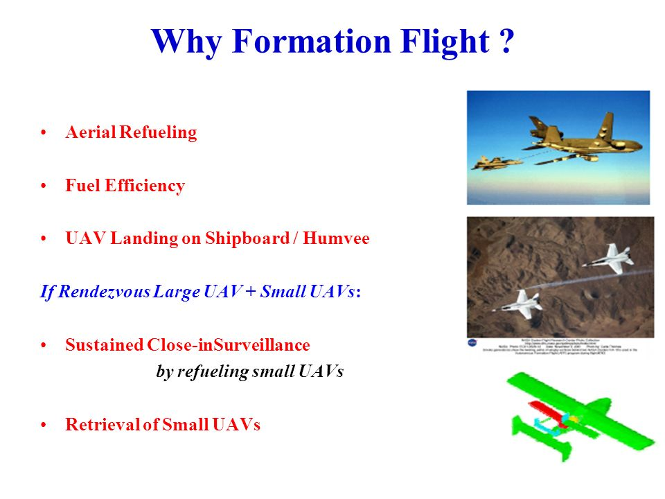 A Possible Approach toFormation Flight Guidance Central generation of commanded flight paths Individual control of path following