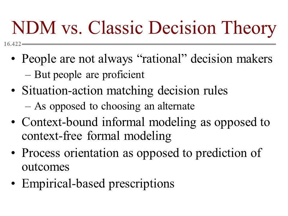NDM vs.