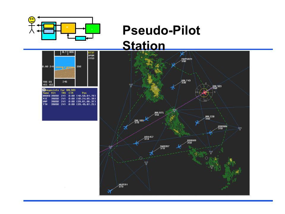 Control Pseudo-Pilot Station
