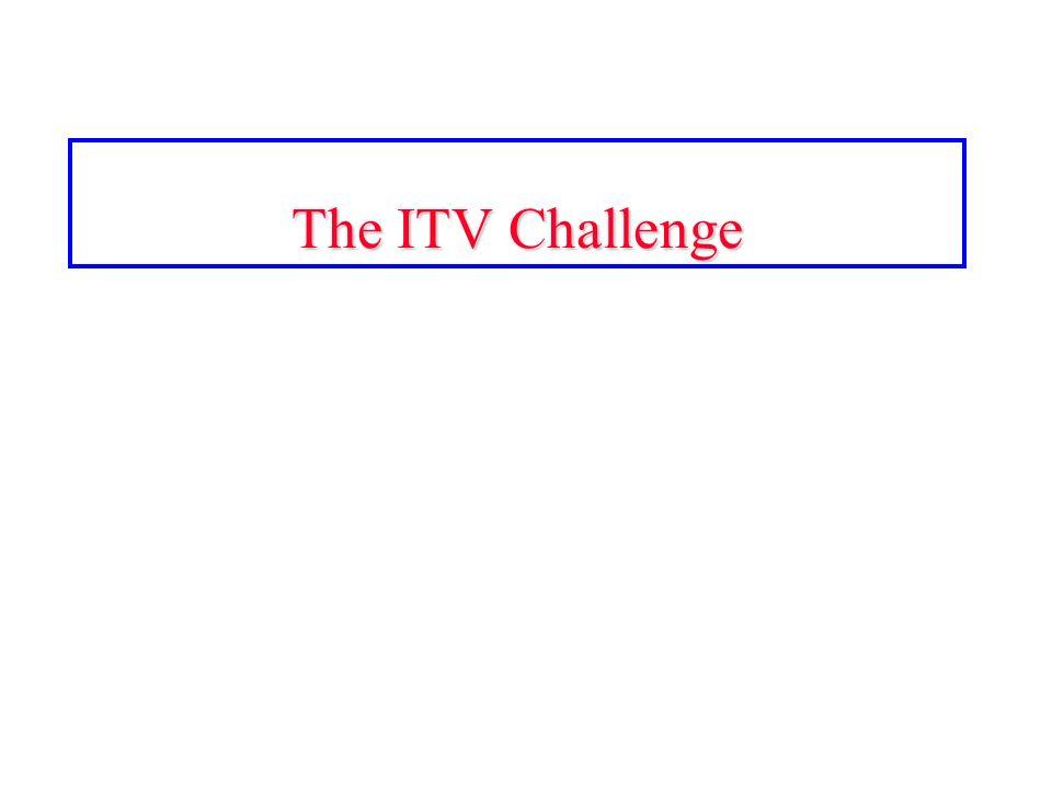 The ITV Challenge