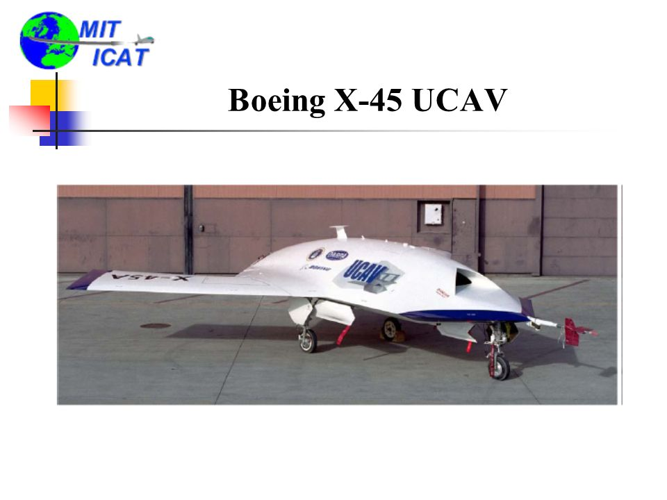 Boeing X-45 UCAV