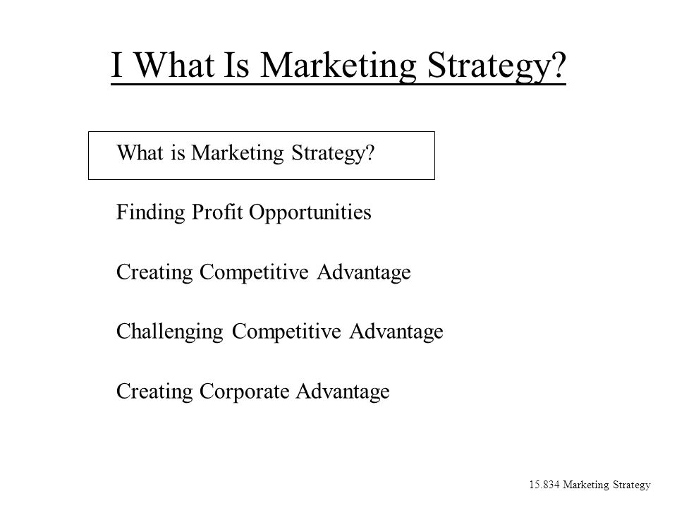 15.834 Marketing Strategy Resources that cannot be purchased directly If the value is vand competitors bid p 1, p 2, etc., the winning bidder will not make money.
