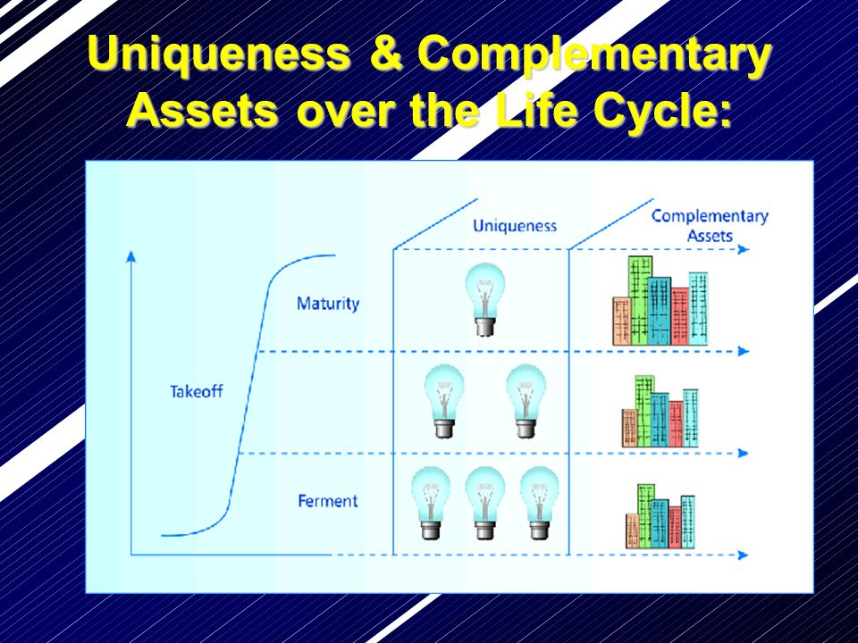 Uniqueness & Complementary Assetsover the Life Cycle: Uniqueness & Complementary Assets over the Life Cycle: