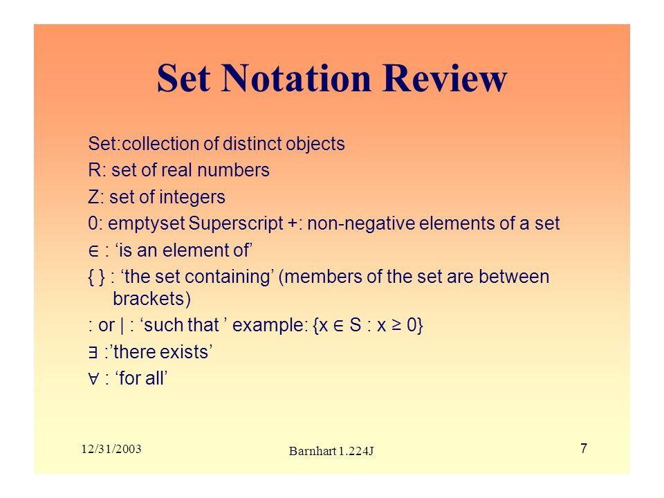 12/31/2003 Barnhart 1.224J 38 Calculating reduced costs