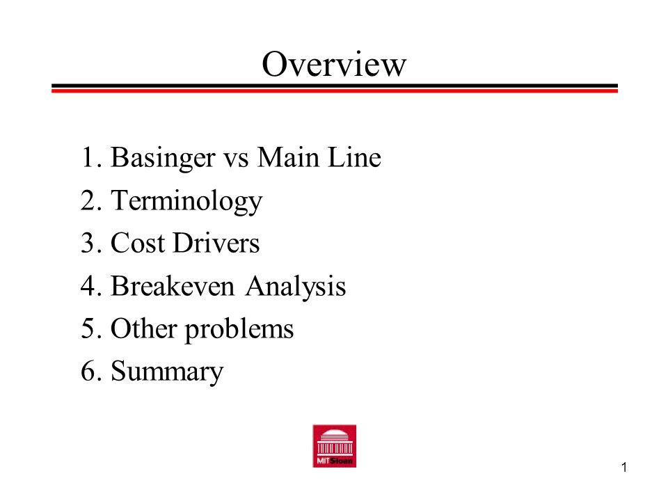 2 Basinger vs Mainline To read the Basinger vs.Mainline case, see: Barton, Thomas L., William G.