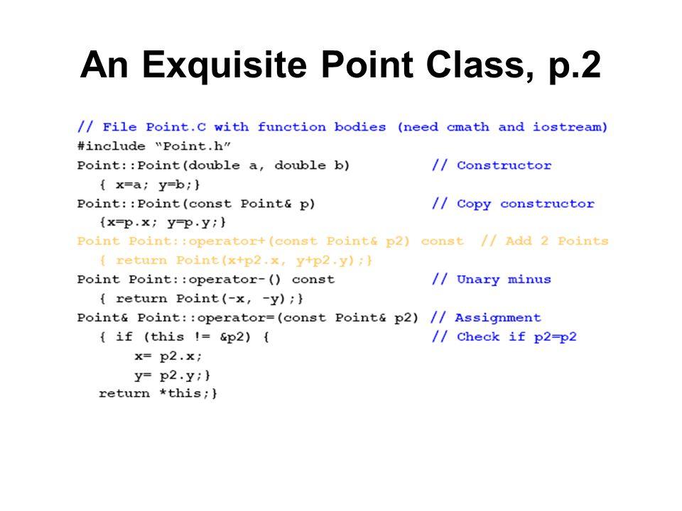 An Exquisite Point Class, p.2