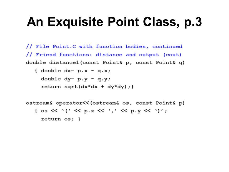 An Exquisite Point Class, p.3
