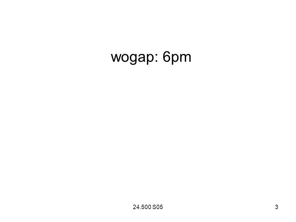 24.500 S053 wogap: 6pm