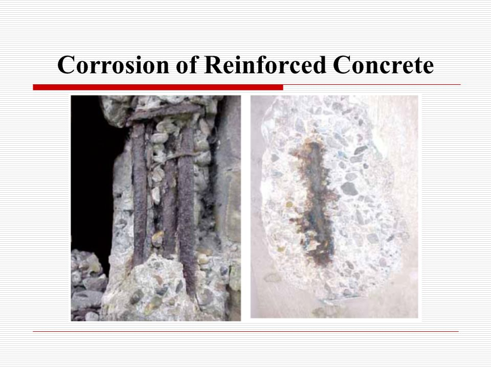Corrosion of Reinforced Concrete