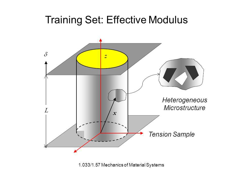 1.033/1.57 Mechanics of Material Systems Training Set: Effective Modulus Heterogeneous Microstructure Tension Sample