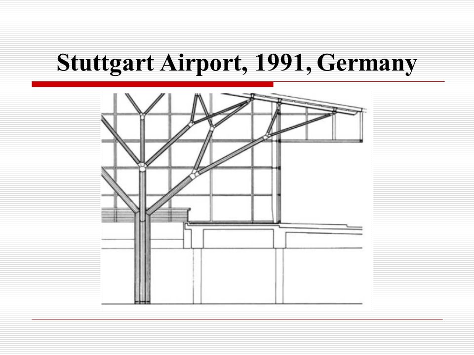 Stuttgart Airport, 1991, Germany