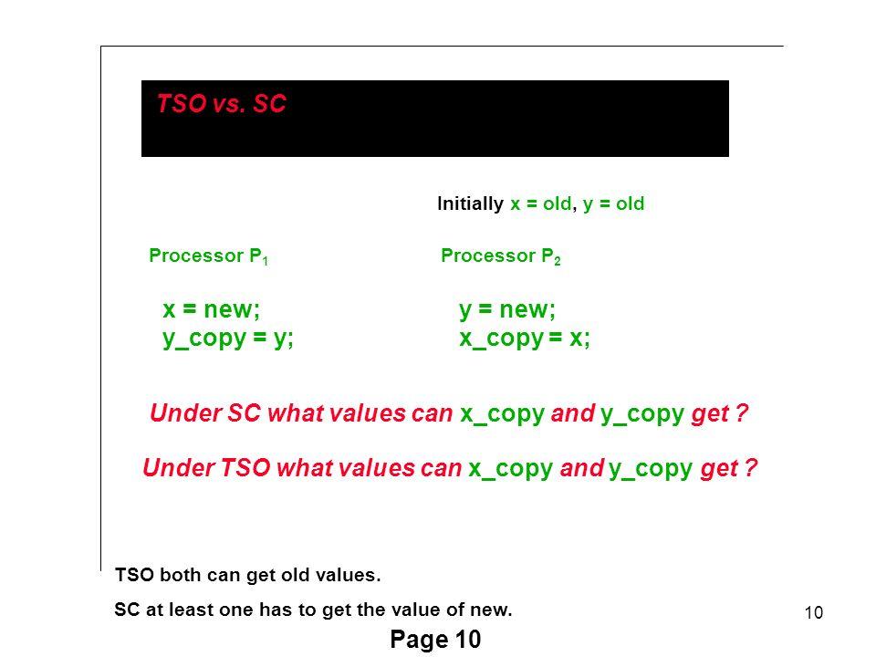 10 Page 10 TSO vs.
