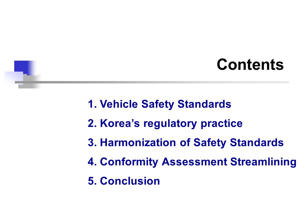 13 Compliance Test Selecting Test Vehicle Test Analysis Final Report Hearing Recall & Penalty Criterion: Large volume of sale Manufacturers given opportunities for defense