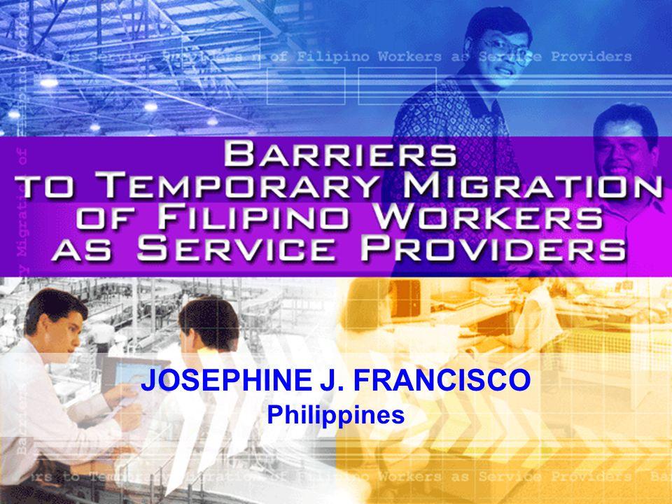 JOSEPHINE J. FRANCISCO Philippines