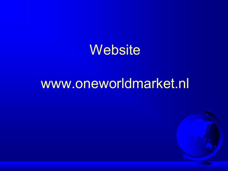 Website www.oneworldmarket.nl