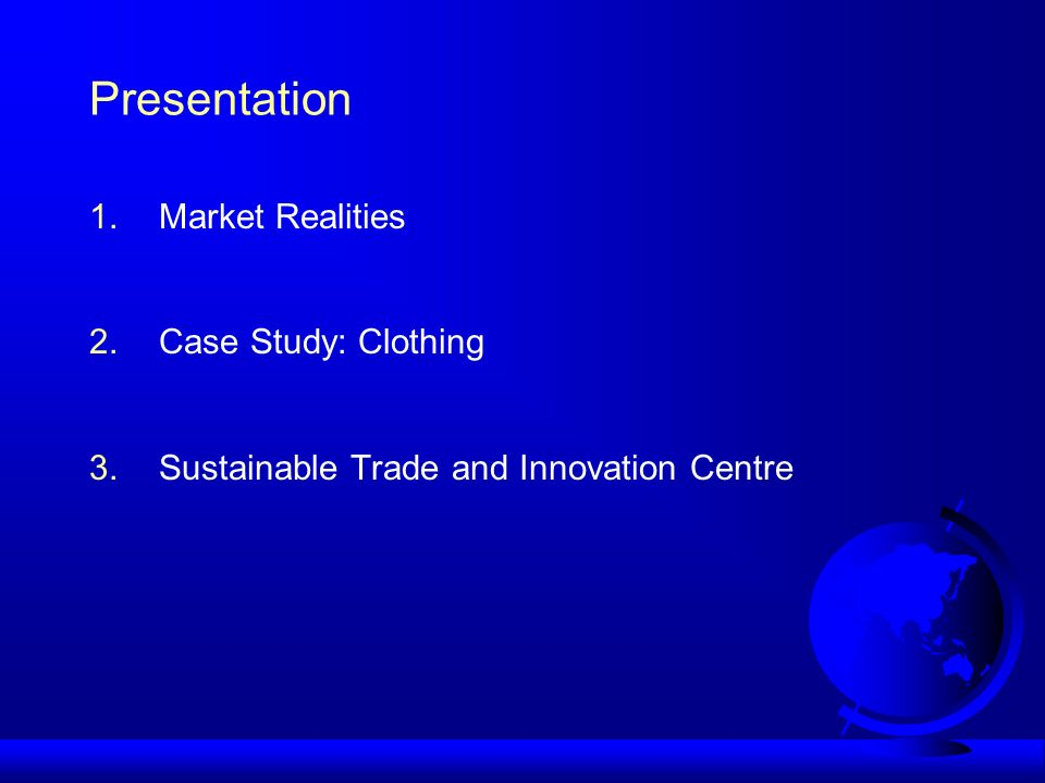 The Sustainable Trade and Innovation Centre