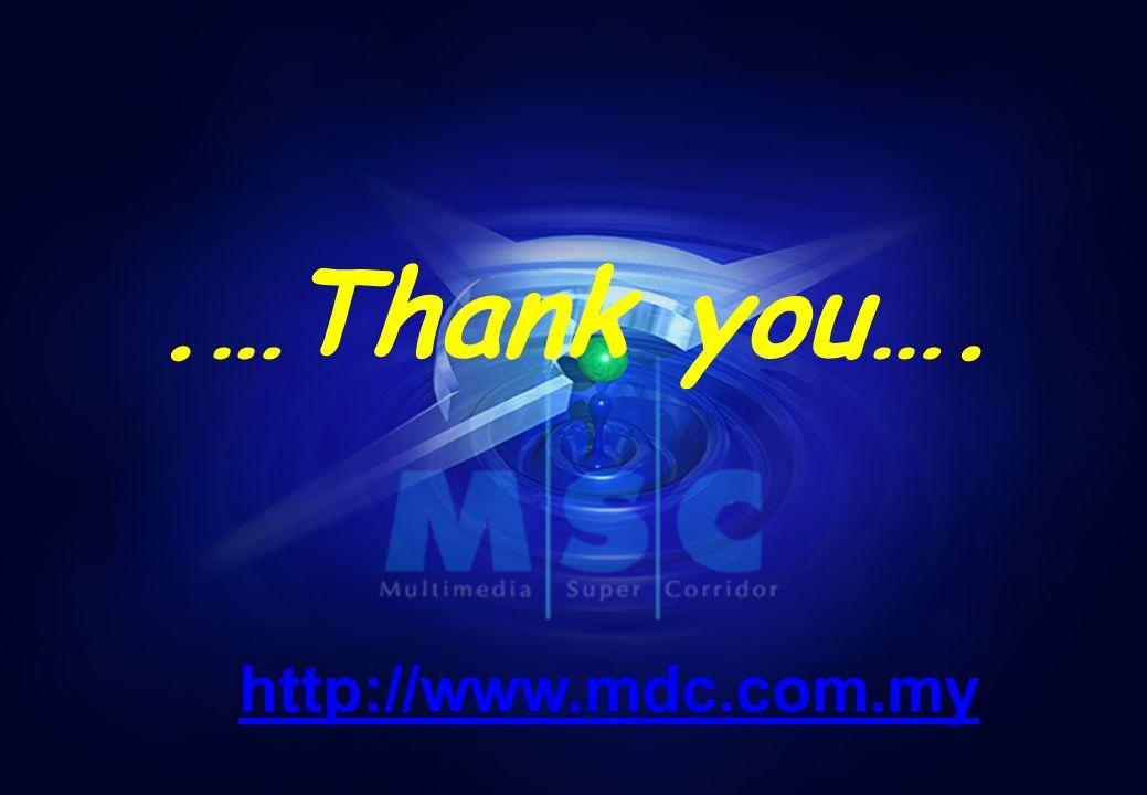 - M ULTIMEDIA D EVELOPMENT C ORPORATION C OPYRIGHT - 23.…Thank you…. http://www.mdc.com.my