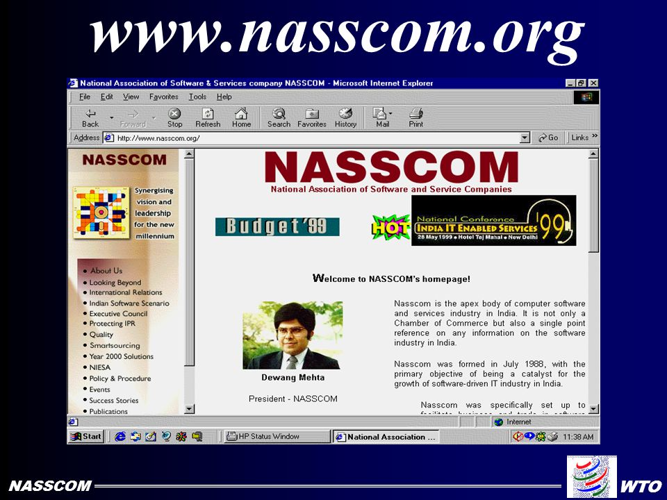 NASSCOM Membership Home-Grown Companies Multinationals IT Software & Services Company NASSCOM WTO