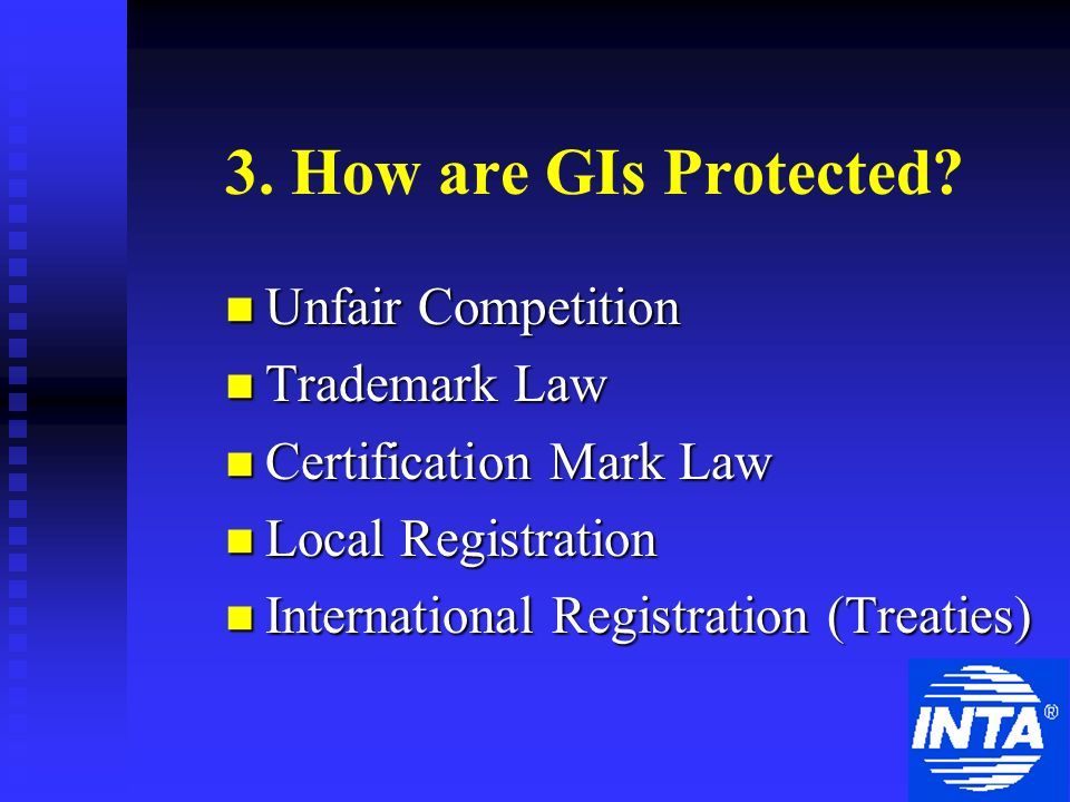 3. How are GIs Protected.