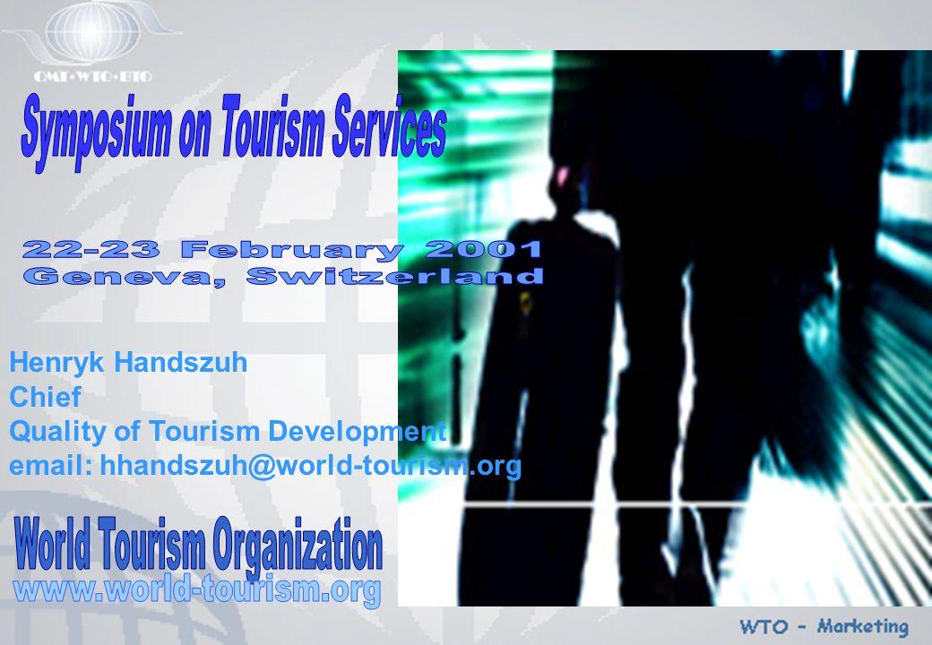 International Tourism by Purpose of Visit, 1998