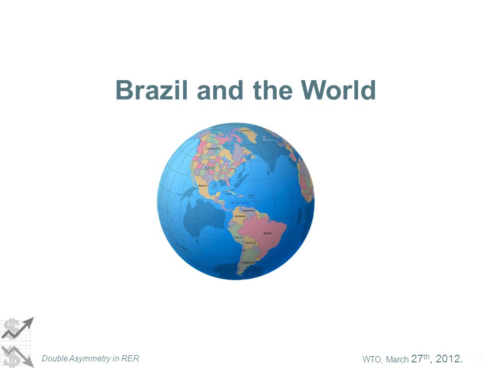 Double Asymmetry in RER 22 Brazil and the World