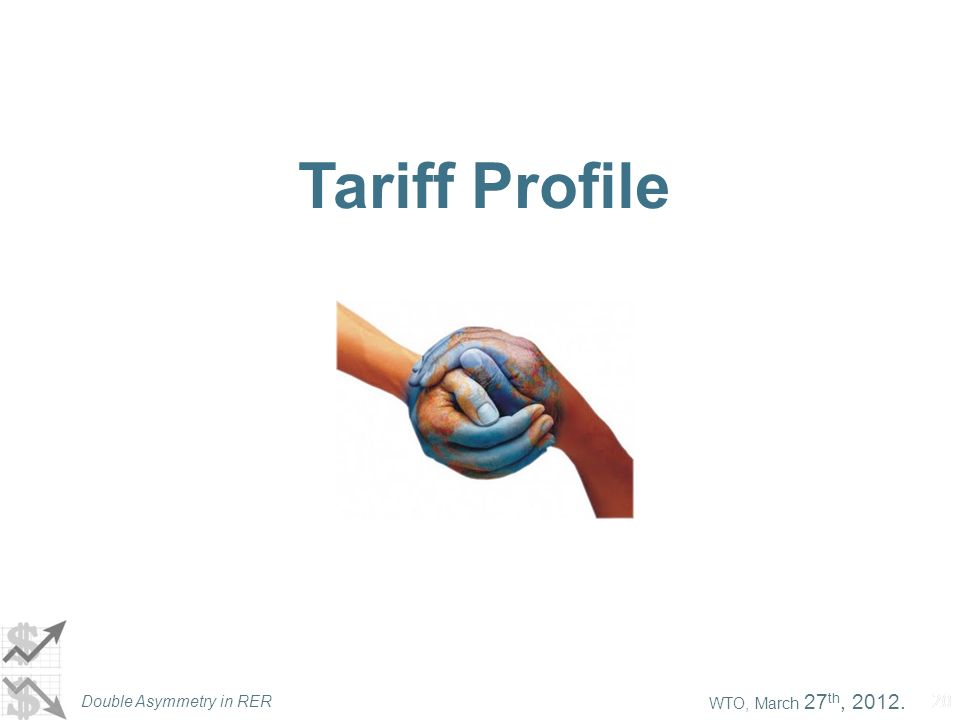 WTO, March 27 th, 2012. Double Asymmetry in RER 20 Tariff Profile
