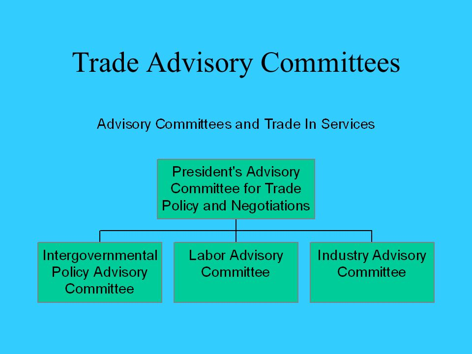Trade Advisory Committees