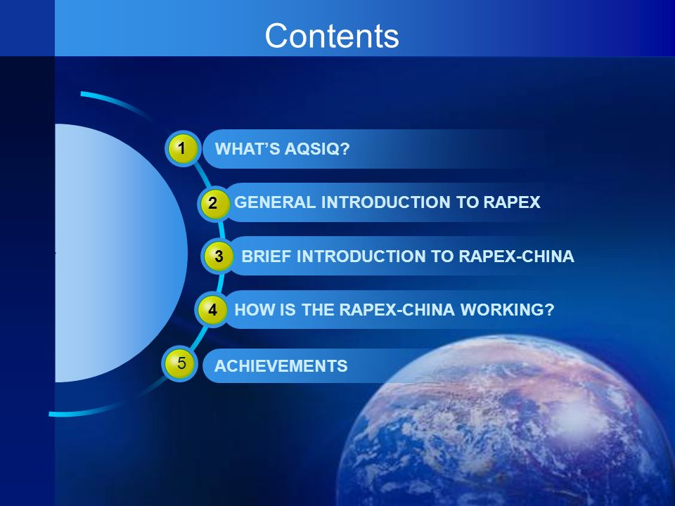 ACHIEVEMENTS OF RAPEX-CHINA EU-CHINA have reached high degree of common understanding on such aspects as theory and concept of quality and safety of consumer products, mechanism of dealing with problems;