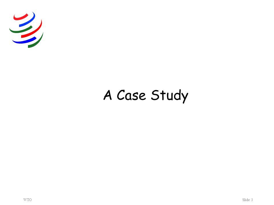 WTOSlide 3 A Case Study