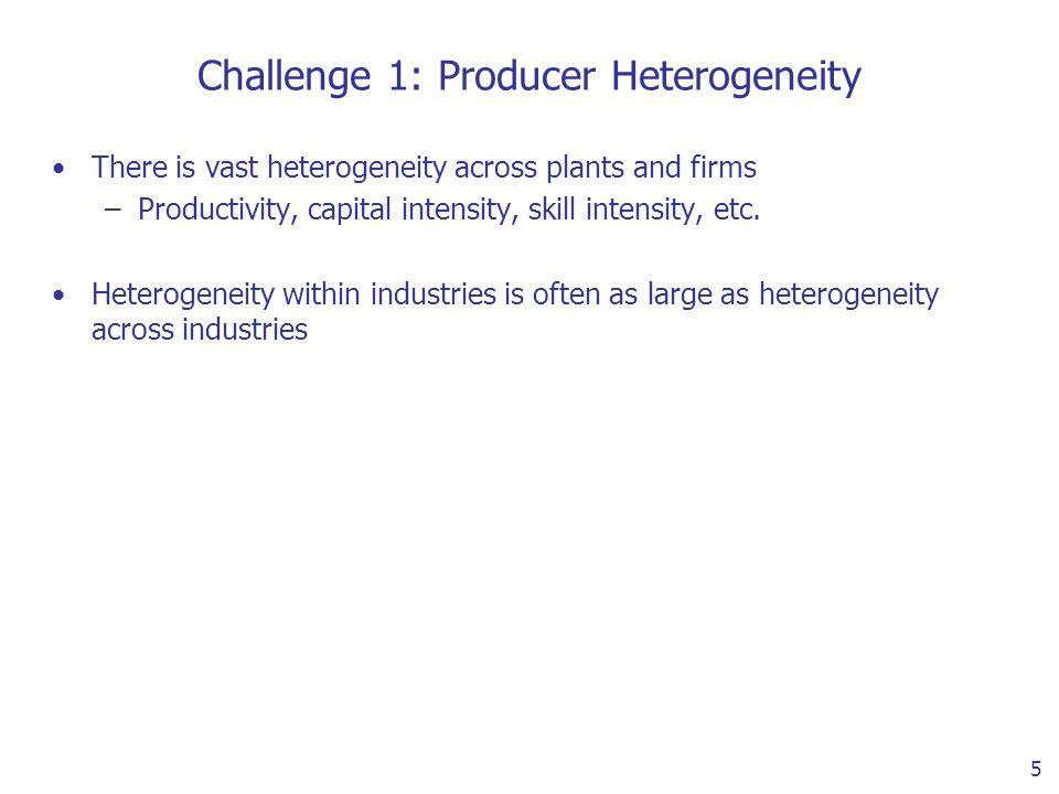 6 Plant Heterogeneity (Bernard, Eaton, Jensen and Kortum 2003)