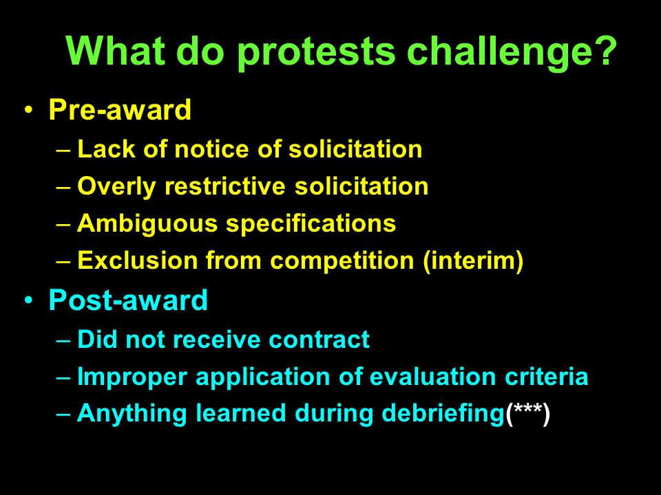 What do protests challenge.