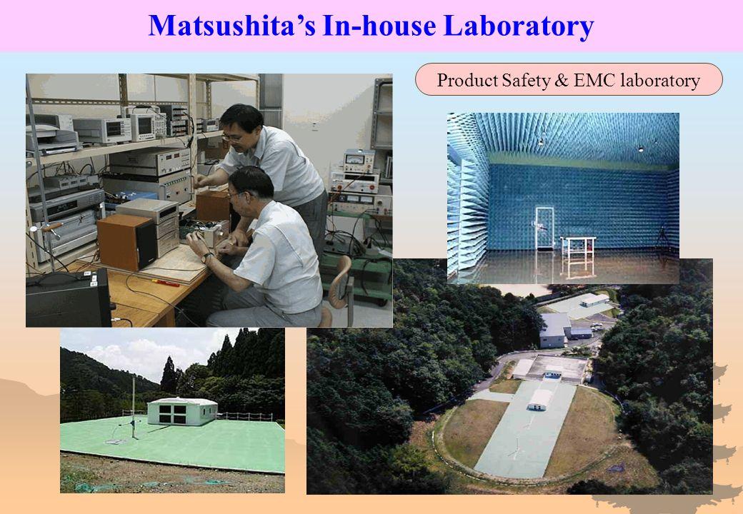 60m Matsushitas In-house Laboratory Product Safety & EMC laboratory