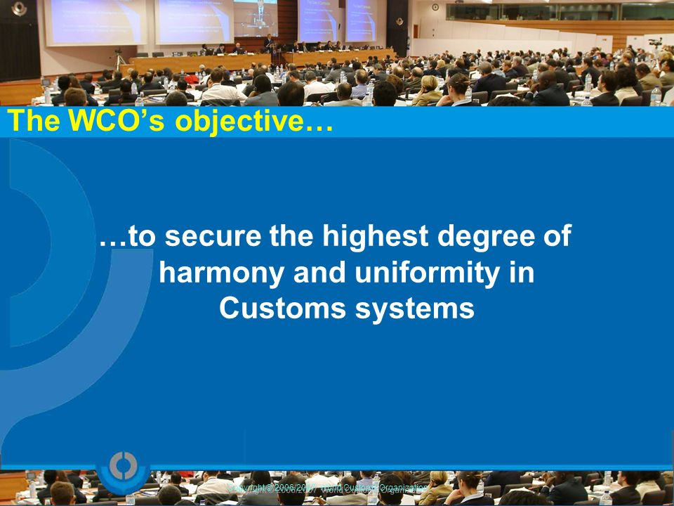 WCO work in this area Provision of resource persons OECD TF Cost survey World Bank TF Needs identification WTO Regional Workshops,… Capacity Building (WTO TF Needs Assessment) – extended pool of WCO experts – participation of the WCO in more than 20 NA workshops