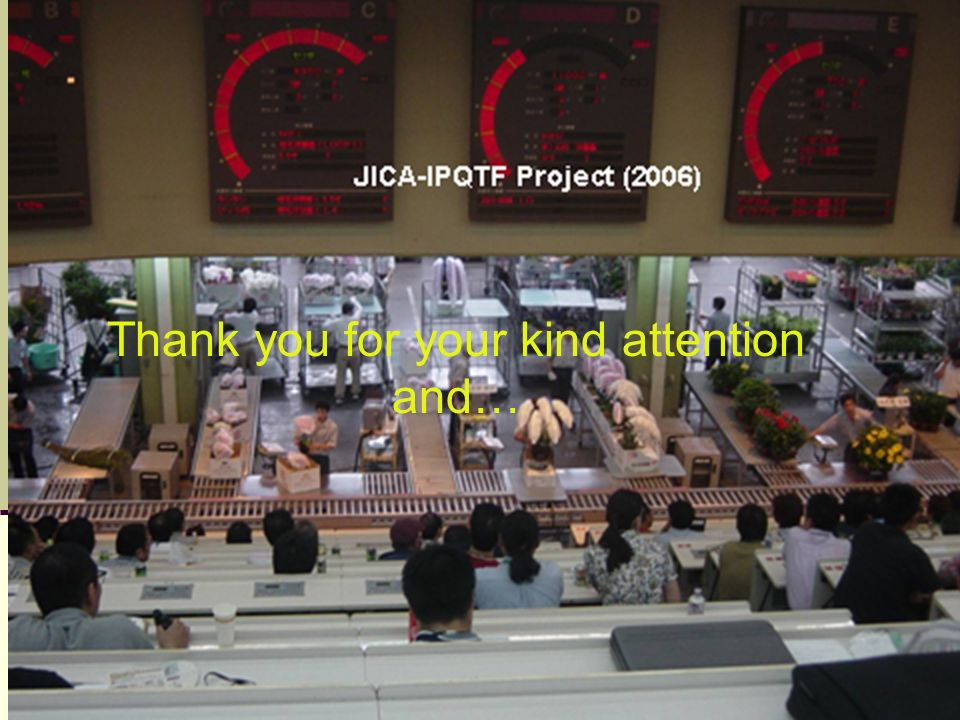 Thank you for your kind attention and…