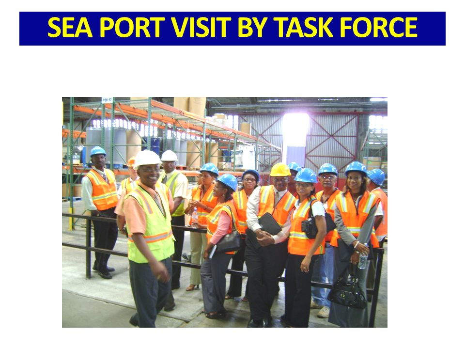 SEA PORT VISIT BY TASK FORCE