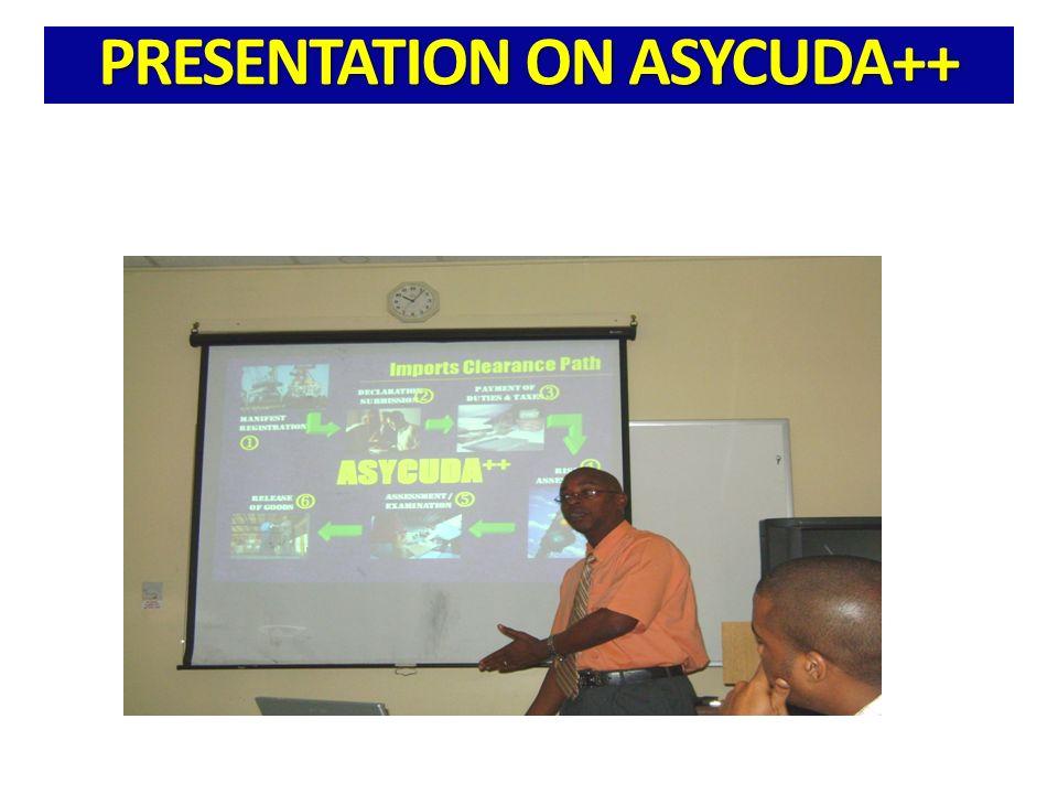 PRESENTATION ON ASYCUDA++