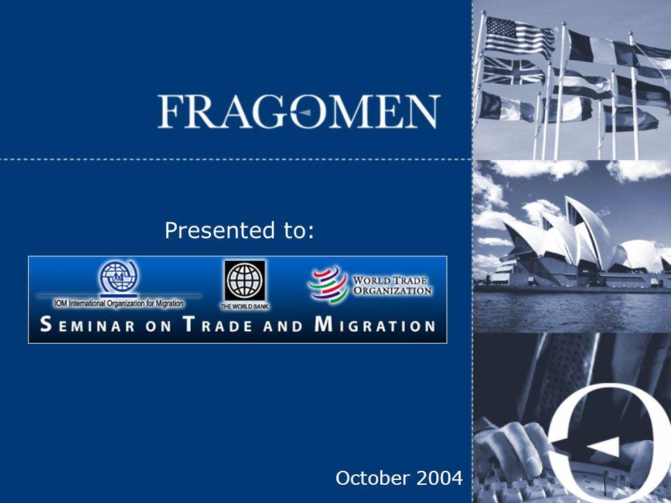 Copyright © 2004 Fragomen, Del Rey, Bernsen & Loewy, LLP 2 Ellen G.