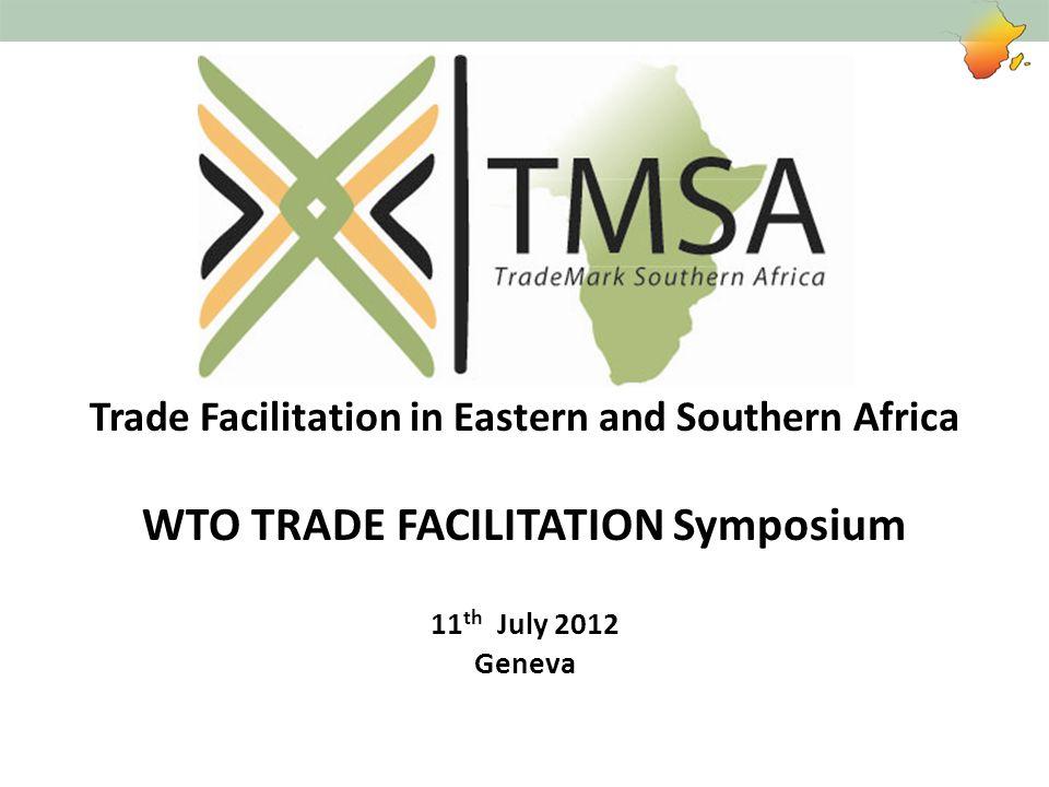 Outline of presentation i)The Tripartite Agenda ii)The Tripartite Partners for Trade Facilitation iii)TradeMark programme-who we are.