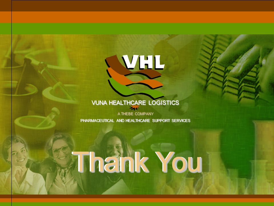 VUNA HEALTHCARE LOGISTICS A THEBE COMPANY PHARMACEUTICAL AND HEALTHCARE SUPPORT SERVICES MAT & Diversion - Answer Systems bases on Batch Number and Ex
