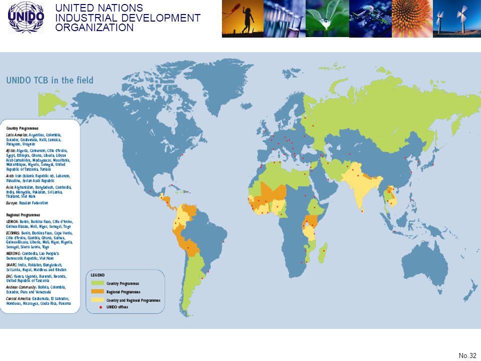 UNITED NATIONS INDUSTRIAL DEVELOPMENT ORGANIZATION No.32