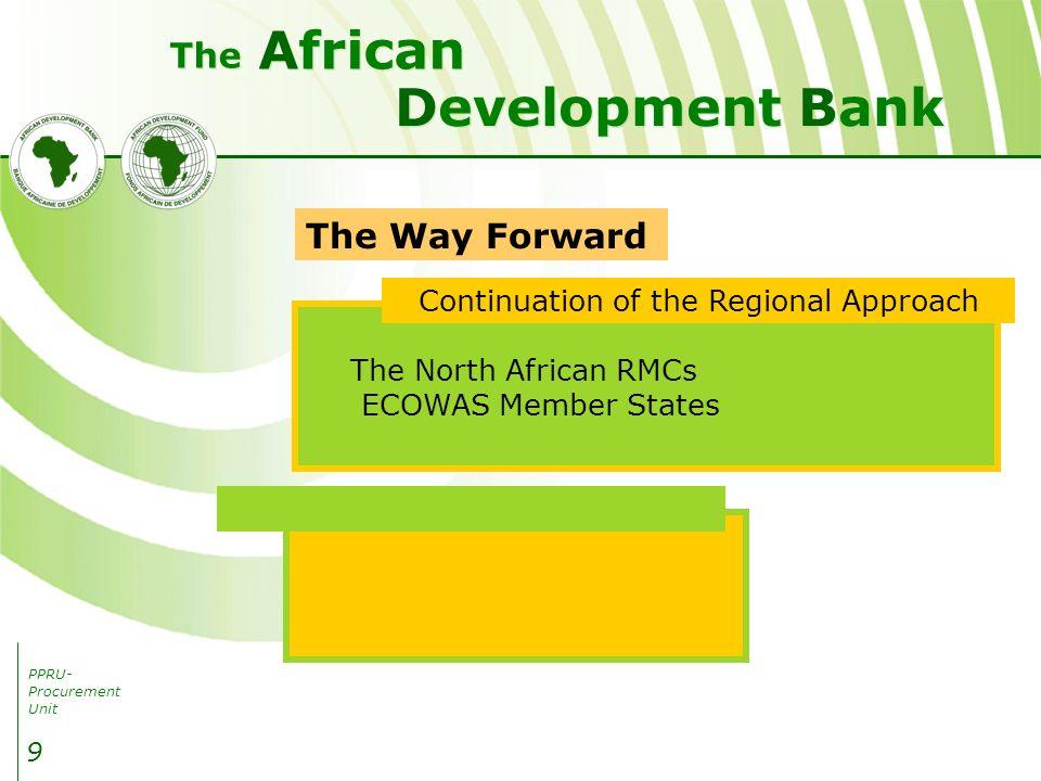 PPRU- Procurement Unit Development Bank African The 10 THANK YOU
