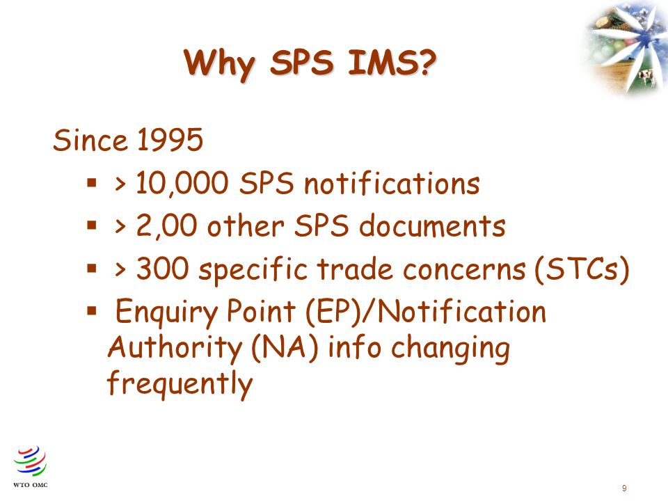 9 Why SPS IMS.