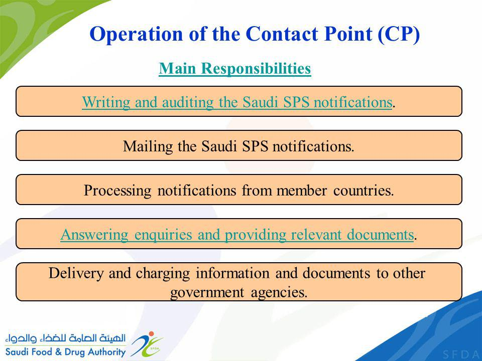 Writing and auditing the Saudi SPS notificationsWriting and auditing the Saudi SPS notifications.
