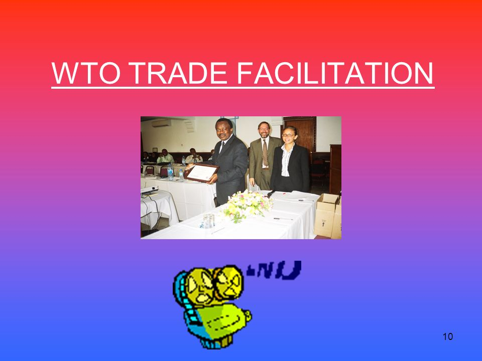 10 WTO TRADE FACILITATION