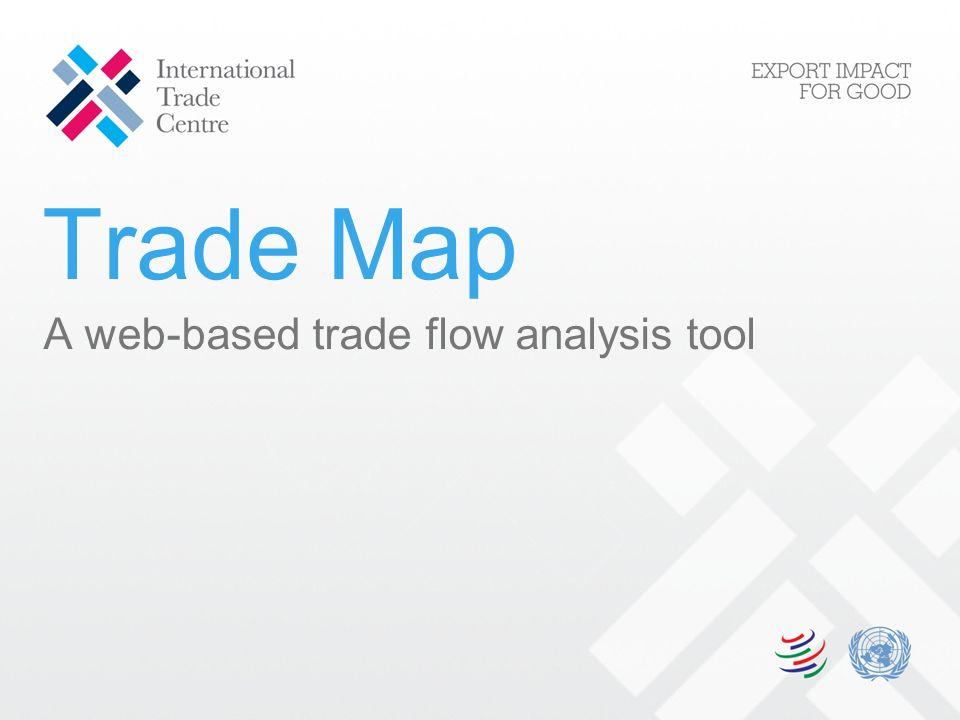 Trade Map A web-based trade flow analysis tool